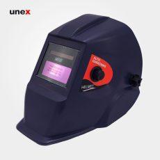 کلاه ماسک اتوماتیک – AUTOMATIC ، ای تی هزار و دو – AT 1002 ، توتاص – TOTAS  ، کلاه ماسک طلق های محافظ صورت ، رنگ سرمه ایی