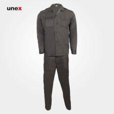 لباس شلوار یونکس سربازی ناجا سبز