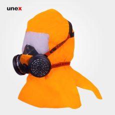 کلاه ماسک رنگ کاری هفتصد و پنجاه و شش – ۷۵۶ ، کلایمکس – CLIMAX  ، کلاه ماسک ، طلق های محافظ صورت ، رنگ نارنجی