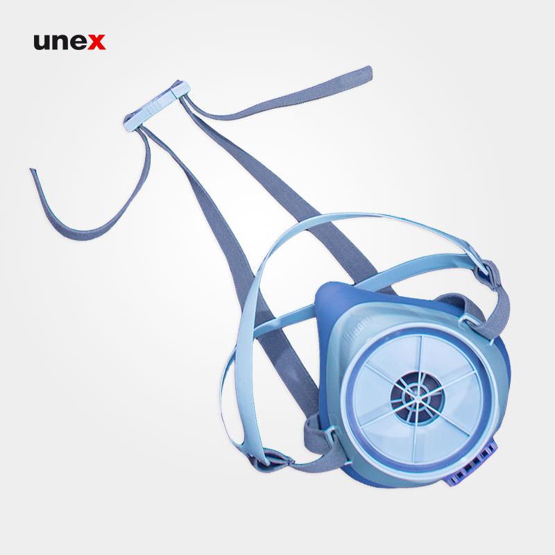 ماسک نیم صورت اس اچ ده – SH 10 ، جین آسیا – JIN ASIA ، ماسک های نیم صورت ، تک فیلتر ، رنگ آبی – بنفش