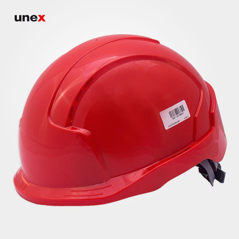 کلاه ایمنی کار در ارتفاع ، ایوو لایت – EVO LITE ،جی اس پی – JSP ، کلاه ایمنی کار در ارتفاع ، رنگ قرمز و زرد ،ساخت انگلستان