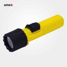چراغ قوه ضد انفجار DAYSUN مدل DF104-W2 SF13 زرد مشکی