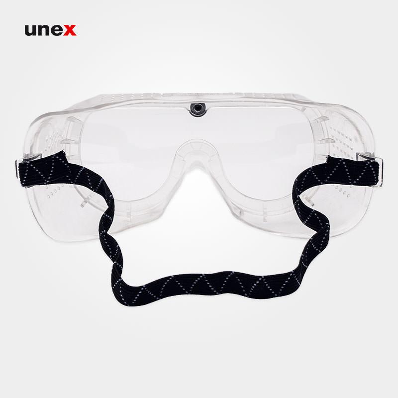 عینک طلقی ضد غبار و ضربه ، اس ایی هزارو صد و بیست - SE1120 ، پن تایوان - PAN TAIWAN ، عینک طلقی کشدار