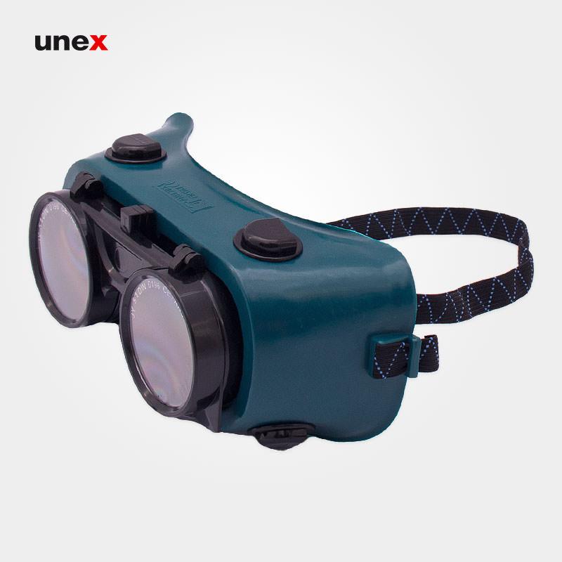 عینک برشکاری و جوشکاری ، ای ششصد و دوازده – SE1150 A612 ، پن تایوان – PAN TAIWAN ، عینک جوشکاری ، رنگ سبز