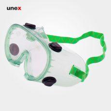 عینک طلقی ضد بخارات شیمیایی ، اس ایی هزارو صد و هفده – SE1117 ، پن تایوان – PAN TAIWAN ، عینک طلقی کشدار