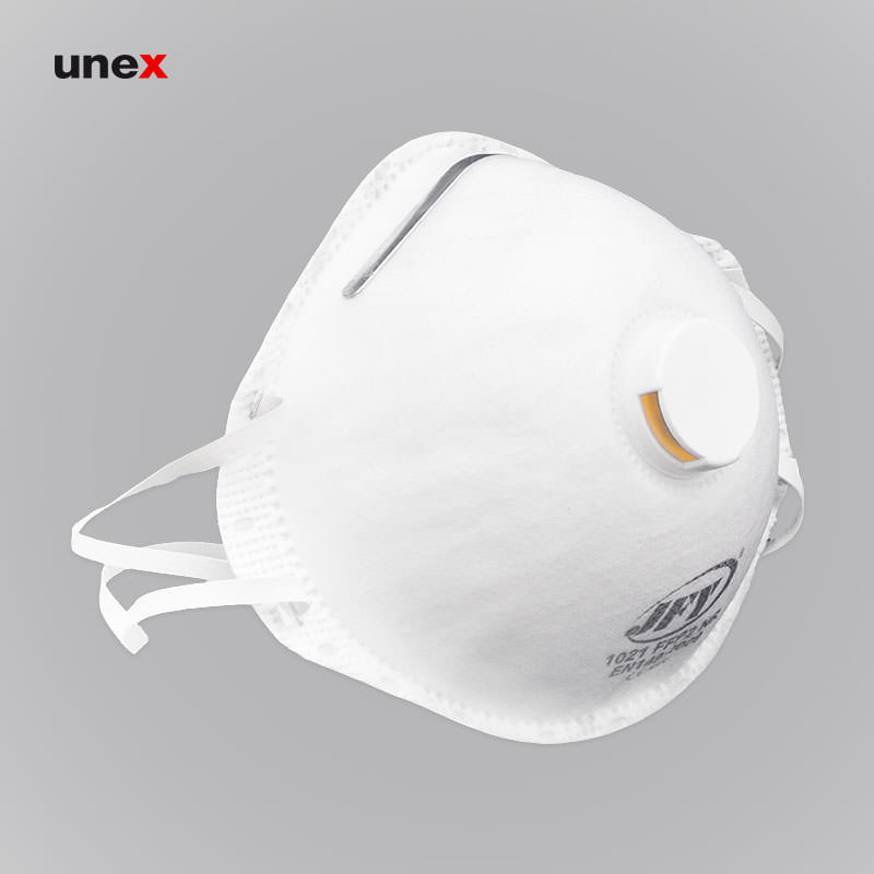 ماسک سوپاپ دار ، جی اف وای هزارو بیست و یک – JFY 1021 ، جی اف وای – JFY ، ماسک های سوپاپ دار ، رنگ سفید