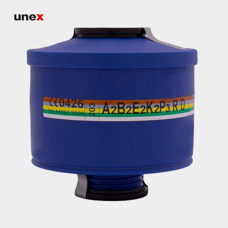 فیلتر شیمیایی ای دو بی دو ایی دو کی دو پی سه – A2B2E2K2P3 ، اسپاسیانی – SPASCIANI ، فیلترها ، رنگ آبی ، ساخت ایتالیا