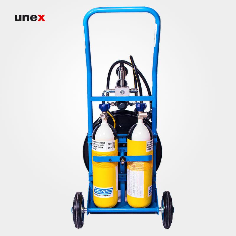 سیستم تنفسی چرخدار، آر سی دو هزارو ششصدو سه – RC 2603، اسپاسیانی – SPASCIANI، سیستم های هوا رسان دائم