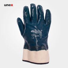 دستکش مواد نفتی HAOLI 5002F سرمه ای