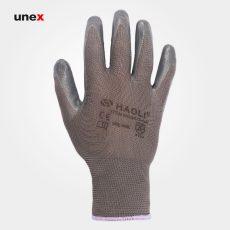 دستکش کف مواد HAOLI 5015 طوسی