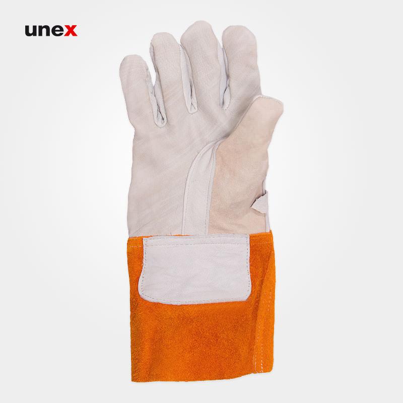 دستکش چرمی محافظ دستکش عایق برق ، سالس بوری – SALSBURY ، دستکش عایق برق ، رنگ زرد ، ساخت آمریکا