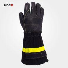 دستکش عملیاتی مبارزه با حریق رنجر – RANGER ، تاکونی – TACCONI ، رنگ مشکی، ساخت ایتالیا