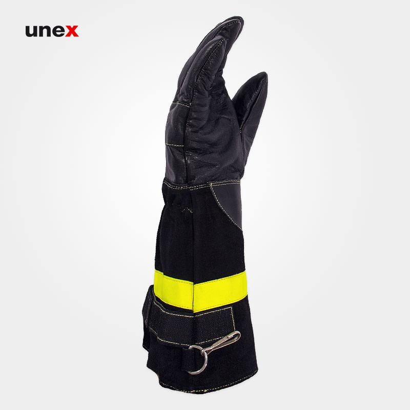 دستکش عملیاتی مبارزه با حریق رنجر - RANGER ، تاکونی - TACCONI ، رنگ مشکی، ساخت ایتالیا