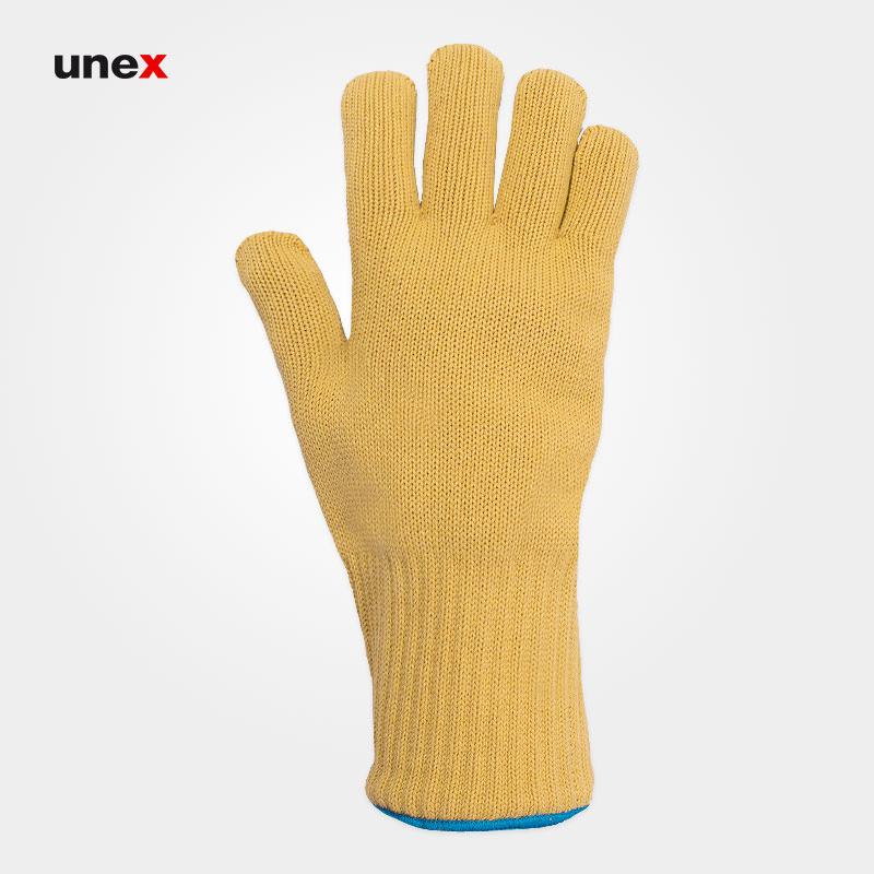 دستکش نسوز کولار – KEVLAR ، نورس – NORTH ، دستکش پارچه ای ، رنگ لیمویی ، ساخت انگلیس