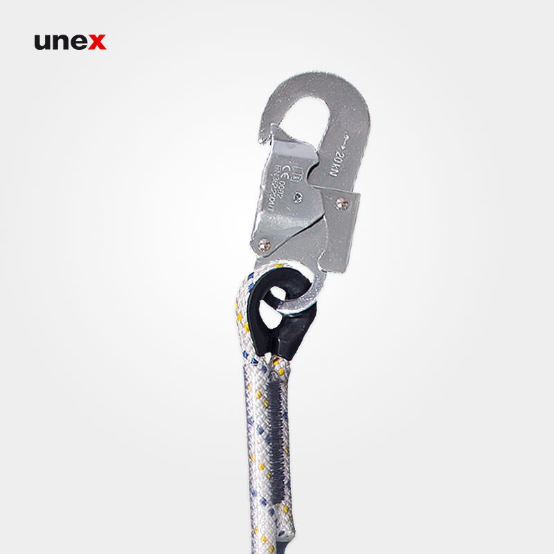 طناب رابط قابل تنظیم سیم بانی، پروت سه - PROT3، پروتکت -PROTEKT، طناب ابریشمی، سفید، ساخت لهستان