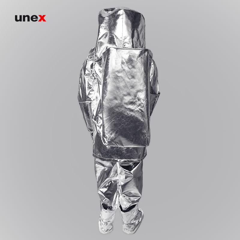 لباس نسوز آلومینیومی برای تماس با آتش، بتا پنج – BETA 5، تاکونی – TACCONI، لباس آلومنیومی تماس با آتش، ایتالیایی
