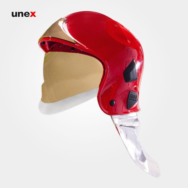 کلاه ضد حریق، موبی – MOBY، دی ان ای – DNA، کلاه ایمنی صنعتی، قرمز، ساخت ایتالیا