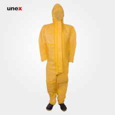 لباس مقاومت شیمیایی سبک، ریچم پنج هزار- RAYCHEM 5000، ریچم – REYCHEM، لباس کار شیمیایی، زرد، ساخت چین