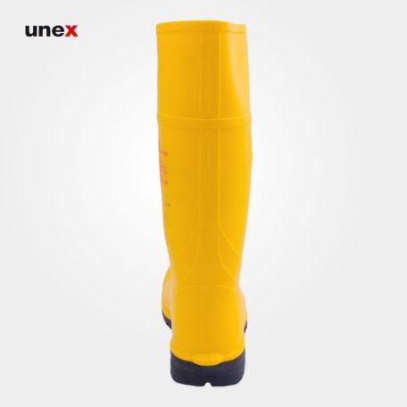 چکمه عایق برق فشار قوی، ورک مستر - WORKMASTER، رسپیرکس - RESPIREX، کفش ایمنی، زرد، ساخت انگلیس