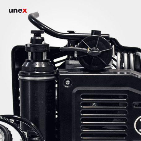 کمپرسور الکتریکی تک فاز، ال دبلیو صد ایی یک - LW100E1، ال اند دبلیو - L&W، کمپرسورهای هوای تنفس، مشکی، ساخت آلمان