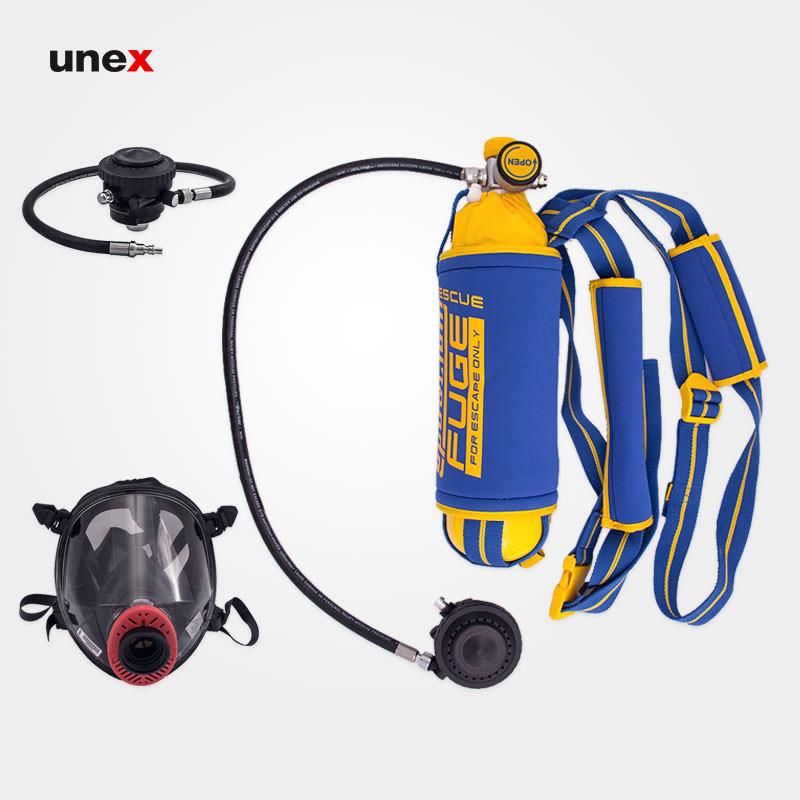 سیستم تنفسی شرایط اضطراری، فوج رسکیو – FUGE RESCUE، اسپاسیانی – SPASCIANI، تجهیزات تنفسی فرار، ساخت ایتالیا