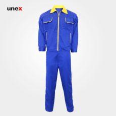 لباس کار یونکس آبی
