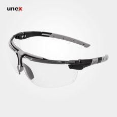 عینک ایمنی UVEX مدل I-3 سفید