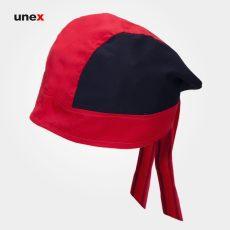 کلاه آشپزی یونکس ترکی قرمز مشکی
