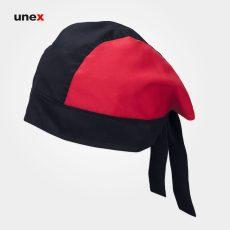 کلاه آشپزی یونکس ترکی مشکی قرمز