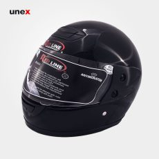 کلاه ایمنی موتور سیکلت ، رد لاین – RED LINE ،  کلاه ایمنی صنعتی ، رنگ مشکی