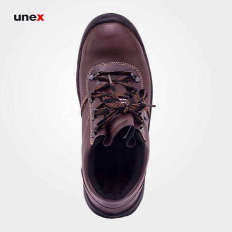 پوتین ایمنی مدل ۱۰۹، کفش ایمنی، قهوه ای، سایز ۴۳، ساخت ایران