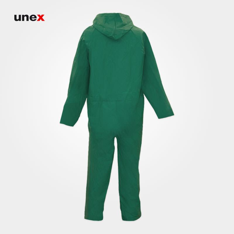 لباس یکسره ضد اسید، پرومکس - PROMAX، لباس کار شیمیایی، سبز، چینی