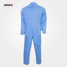 لباس کار یونکس یکسره آبی