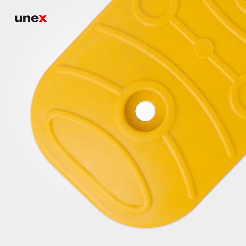 استاپر مستطیل، ۱۵*۲۷ سانتی متر، ابزار ایمنی شهپر، استاپر، زرد، ایرانی