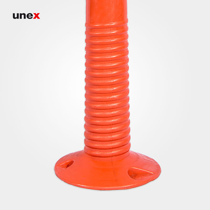 استوانه درجه یک ۷۵ سانتی متری،پی وی سی - PVC، ابزار ایمنی شهپر، استوانه، نارنجی، ایرانی