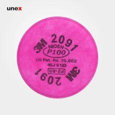پد ماسک ۲۰۹۱ ، تری ام – ۳M، فیلتر، صورتی، چینی
