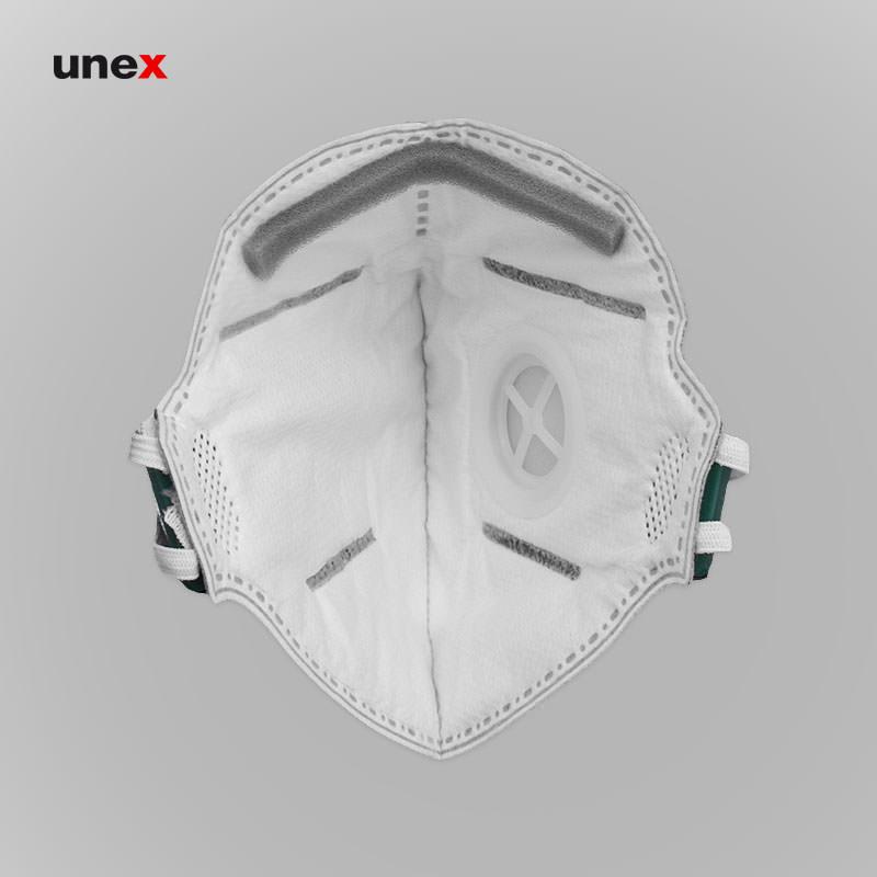 ماسک تنفسی سوپاپ دار کربن اکتیو ۸۲۲۶، اس پی سی - SPC ، ماسک های سوپاپ دار، طوسی، چینی