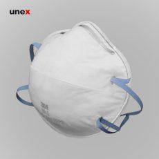 ماسک کاغذی بدون سوپاپ ۳M 8810، ابزار ایمنی شهپر، ماسک تنفسی، سفید، چینی