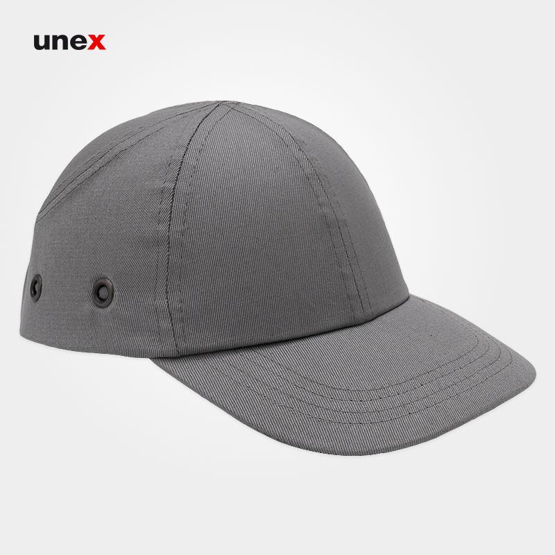کلاه لبه دار ایمنی کپ - CAP، ابزار ایمنی شهپر، کلاه ایمنی صنعتی،  طوسی، چینی