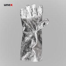 دستکش آلومینیومی نسوز نقره ای