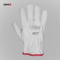 دستکش جوشکاری آرگون CLT سفید