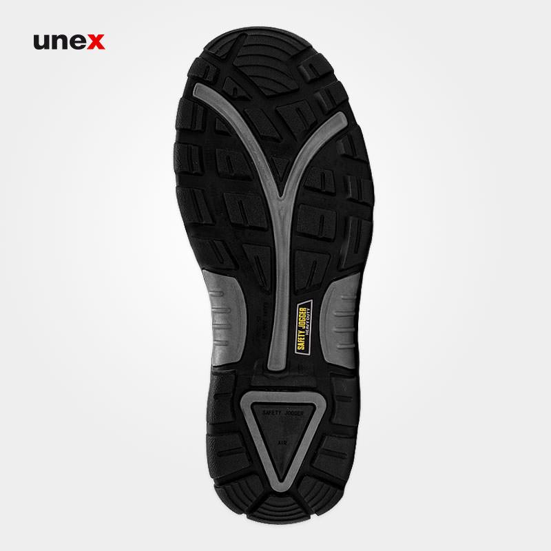 کفش ایمنی FORCE 2، سیفتی جوگر - SAFETY JOGGER، کفش ایمنی، قهوه ای، سایز ۴۰ تا ۴۷، چینی