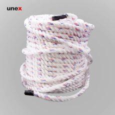 طناب سه رشته ای ابریشمی نمره ۱۰، ۲۳۰ متری، ابزار ایمنی شهپر، طناب ابریشمی، سفید، کره ای