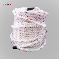 طناب سه رشته ای ابریشمی، نمره ۲۰، ۲۳۰ متری، ابزار ایمنی شهپر، طناب ابریشمی، سفید، کره ای