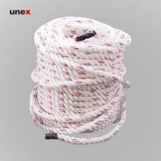 طناب سه رشته ای ابریشمی نمره ۱۸، ۲۳۰ متری، ابزار ایمنی شهپر، طناب ابریشمی، سفید، کره ای
