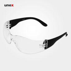 عینک ایمنی پلی کربنات SL-B، ابزار ایمنی شهپر، عینک جوشکاری، بی رنگ، ایرانی