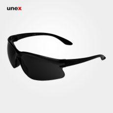 عینک ایمنی S10 پلی کربنات V-100، عینک ورزشی، ابزار ایمنی شهپر، عینک فریم دار، فریم مشکی، ایرانی