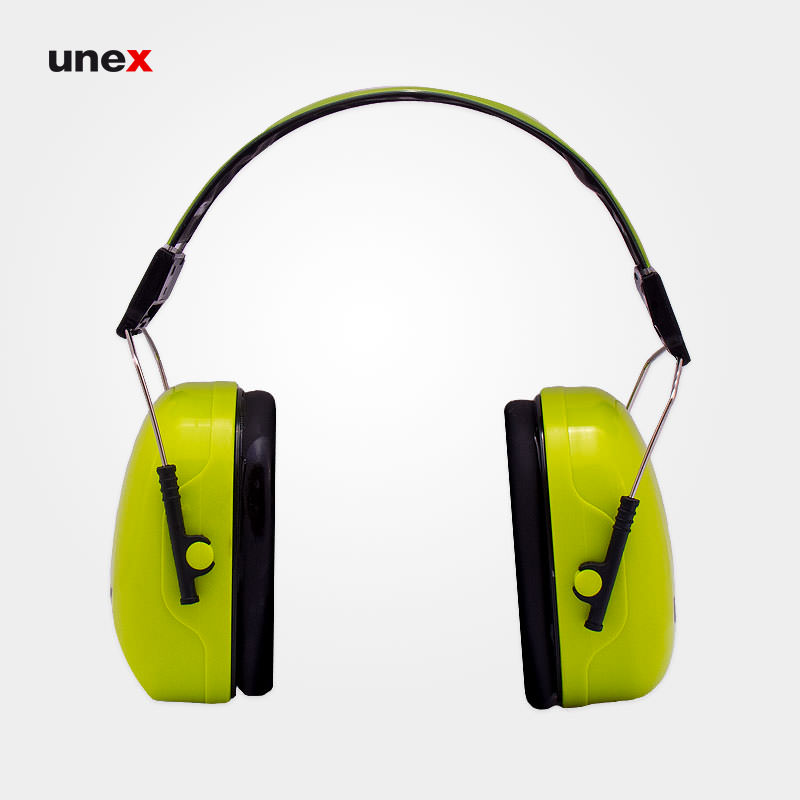 گوشی ایمنی روی گوش ۳V، یووکس - UVEX، گوشی ایمنی روی گوش، سبز، آلمانی