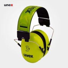 گوشی ایمنی UVEX ۳V سبز