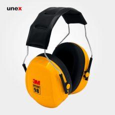 گوشی ایمنی ۹۸ PELTOR OPTIME زرد